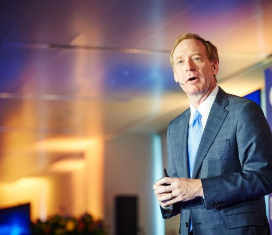 Brad Smith, the President and Chief Legal Officer of Microsoft