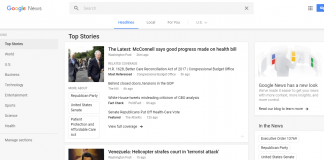 Google News Gets a Redesigned After 14 Years