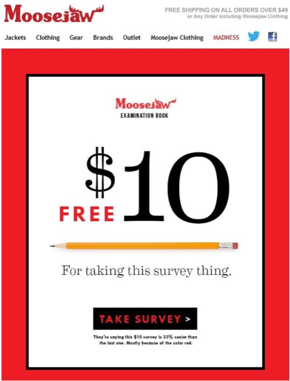 MooseJaw Customer Feedback